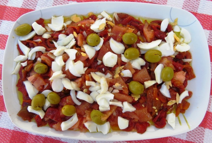 ensalada de pimientos 2