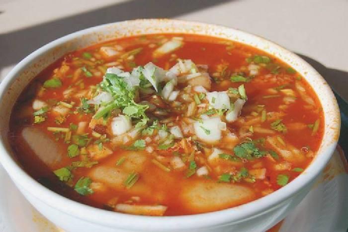 sopa a los cinco minutos